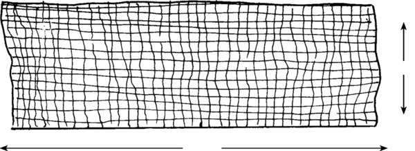 illustration of the above, showing width and length of membranes.