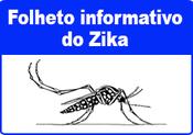 folheto informativo do zika